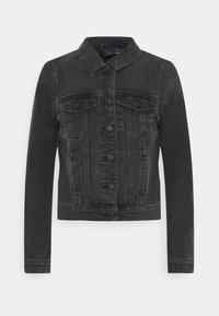 VMFAITH SLIM JACKET MIX - Denim jacket - black