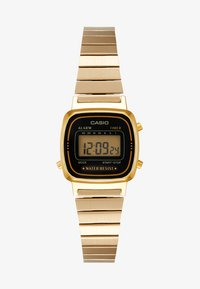 Casio - Digital watch - gold-coloured/black - 2