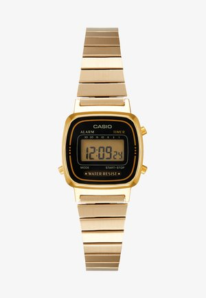 Digital watch - gold-coloured/black