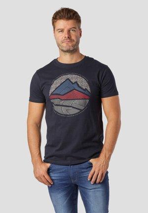 T-shirt print - dk.navy