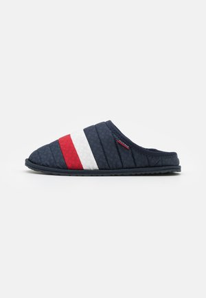 CORPORATE PADDED HOMESLIPPER - Pantofole - red/white/blue