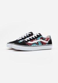 Vans - OLD SKOOL EXCLUSIVE - Sneakers laag - black/multicolor/true white - 1