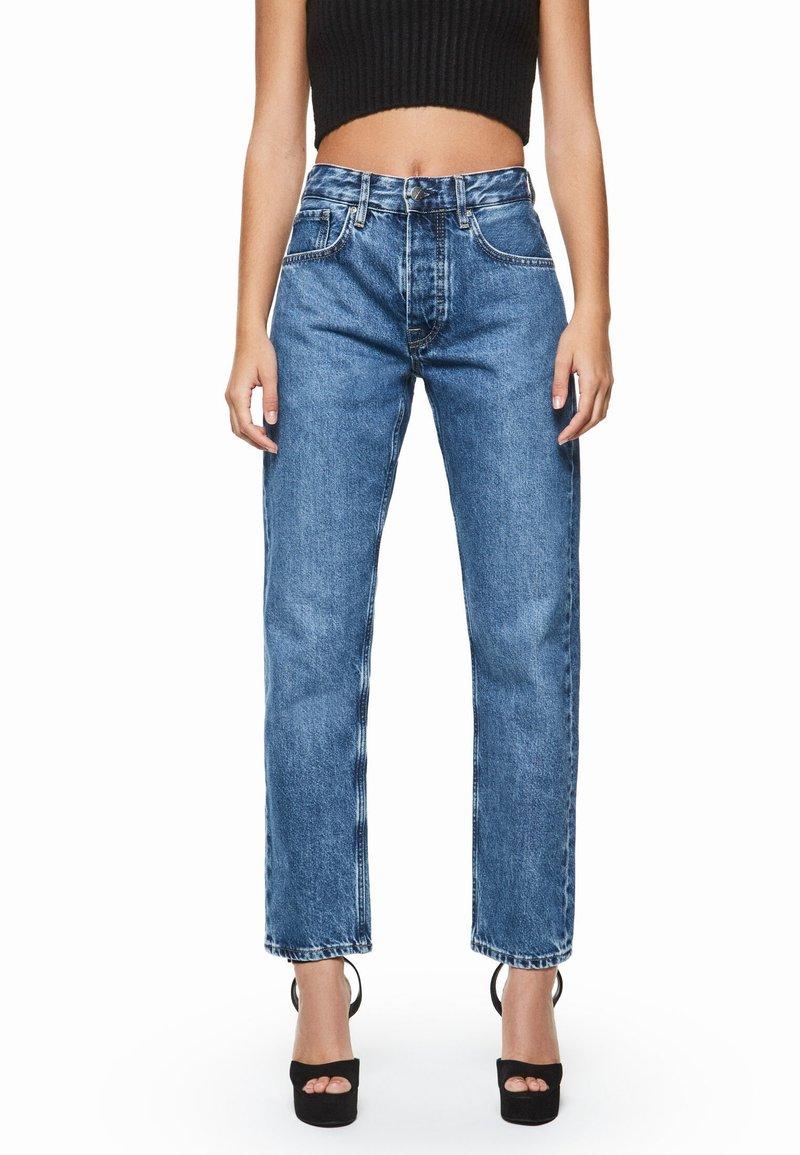 Pepe Jeans - DUA LIPA X PEPE JEANS - Straight leg jeans - denim