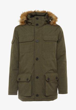 HERSHEL - Zimní kabát - olive night