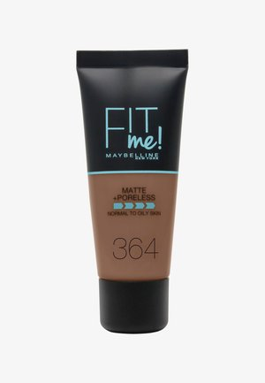 FIT ME MATTE & PORELESS MAKE-UP - Foundation - 364 deep bronze