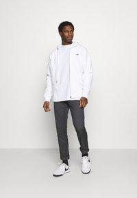 Lacoste - Zip-up hoodie - blanc - 1