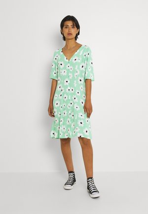 WINONA DRESS - Day dress - green floral