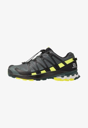 XA PRO 3D V8 GTX - Trail running shoes - urban chic/black/lime punc
