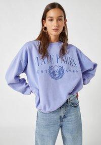 PULL&BEAR - Sweatshirt - mottled blue - 3