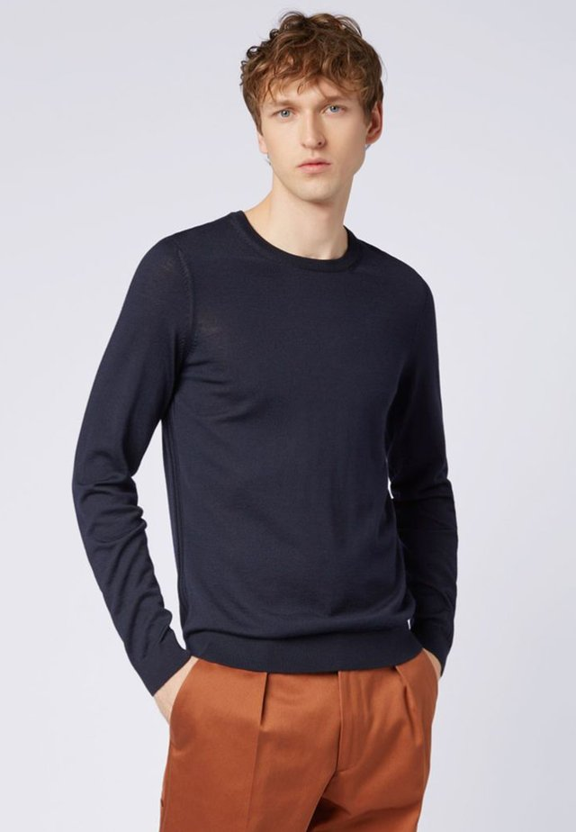 LENO - Strickpullover - dark blue