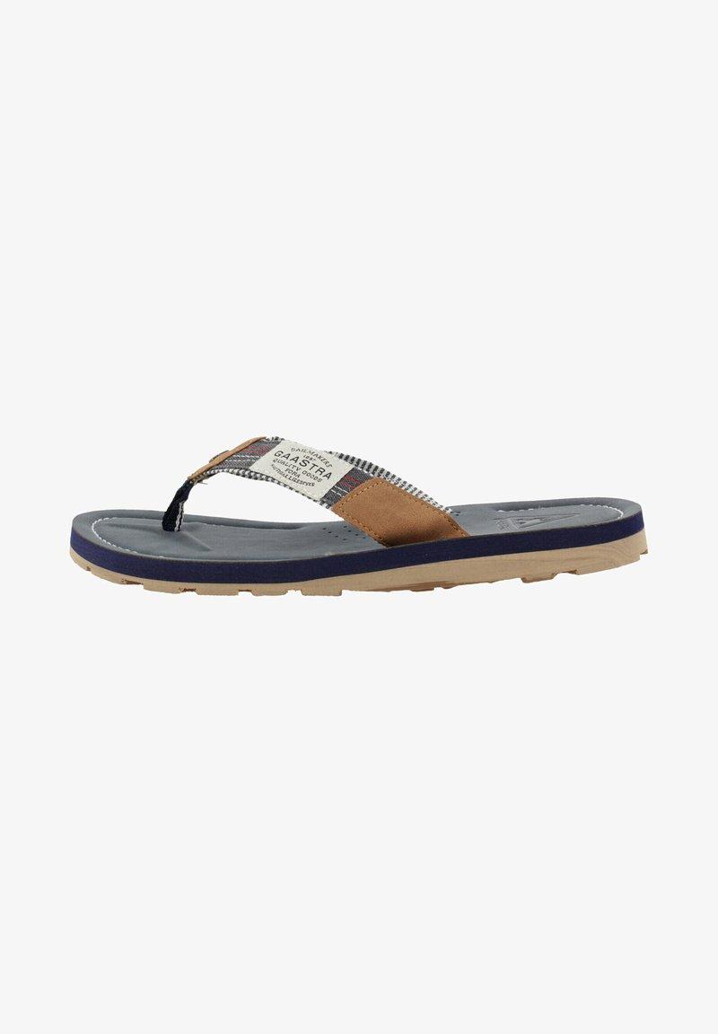 Gaastra - T-bar sandals - navy