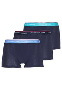 Tommy Hilfiger - TRUNK 3 PACK - Pants - black - 0