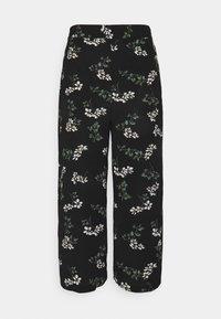 Vero Moda Tall - VMSAGA CULOTTE PANT - Bukser - black - 0