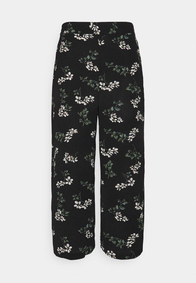 VMSAGA CULOTTE PANT - Trousers - black