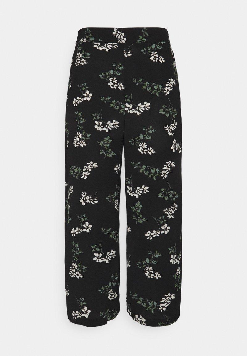 Vero Moda Tall - VMSAGA CULOTTE PANT - Bukser - black