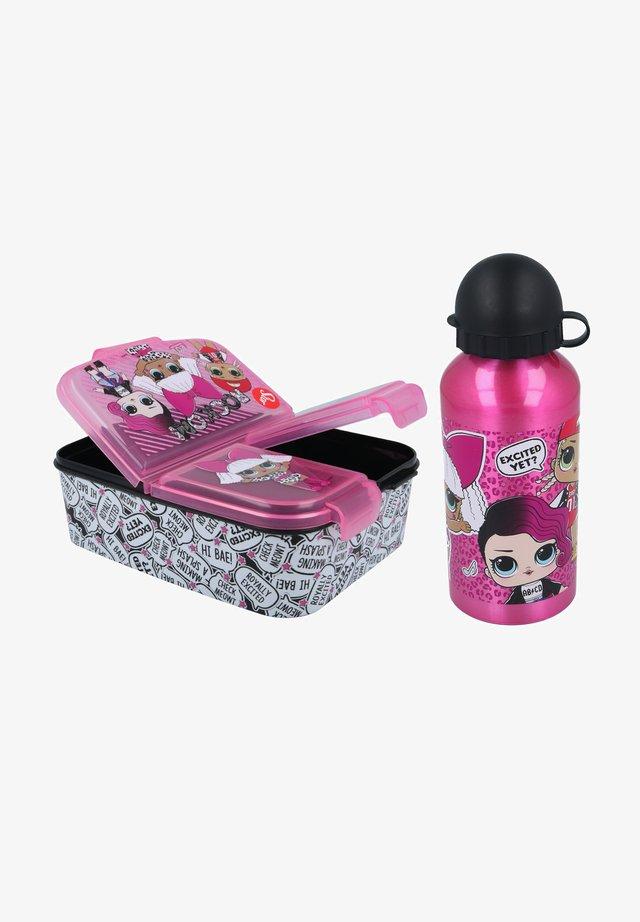SET - Lunch box - pink