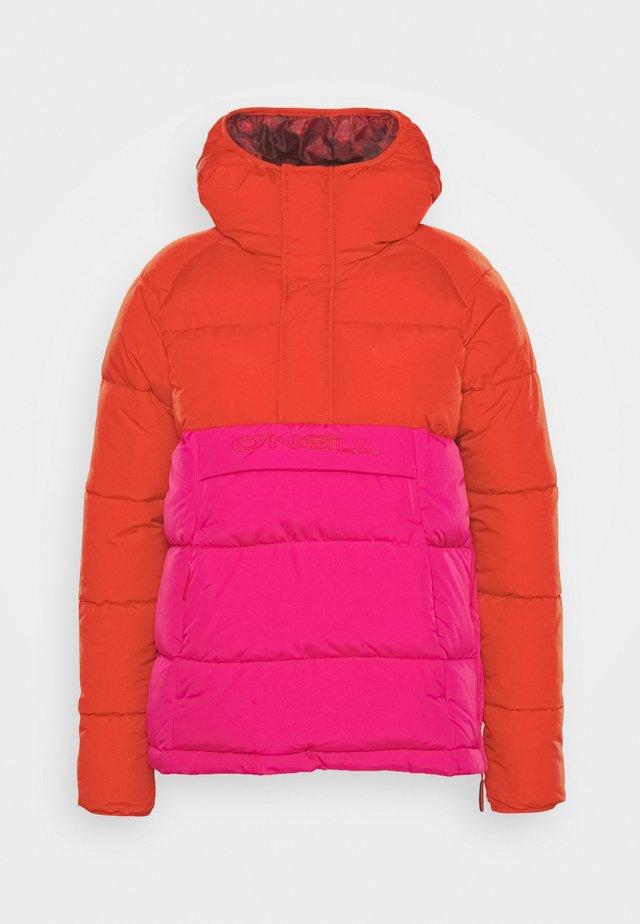 O'RIGINALS JACKET - Snowboardjacka - fiery red