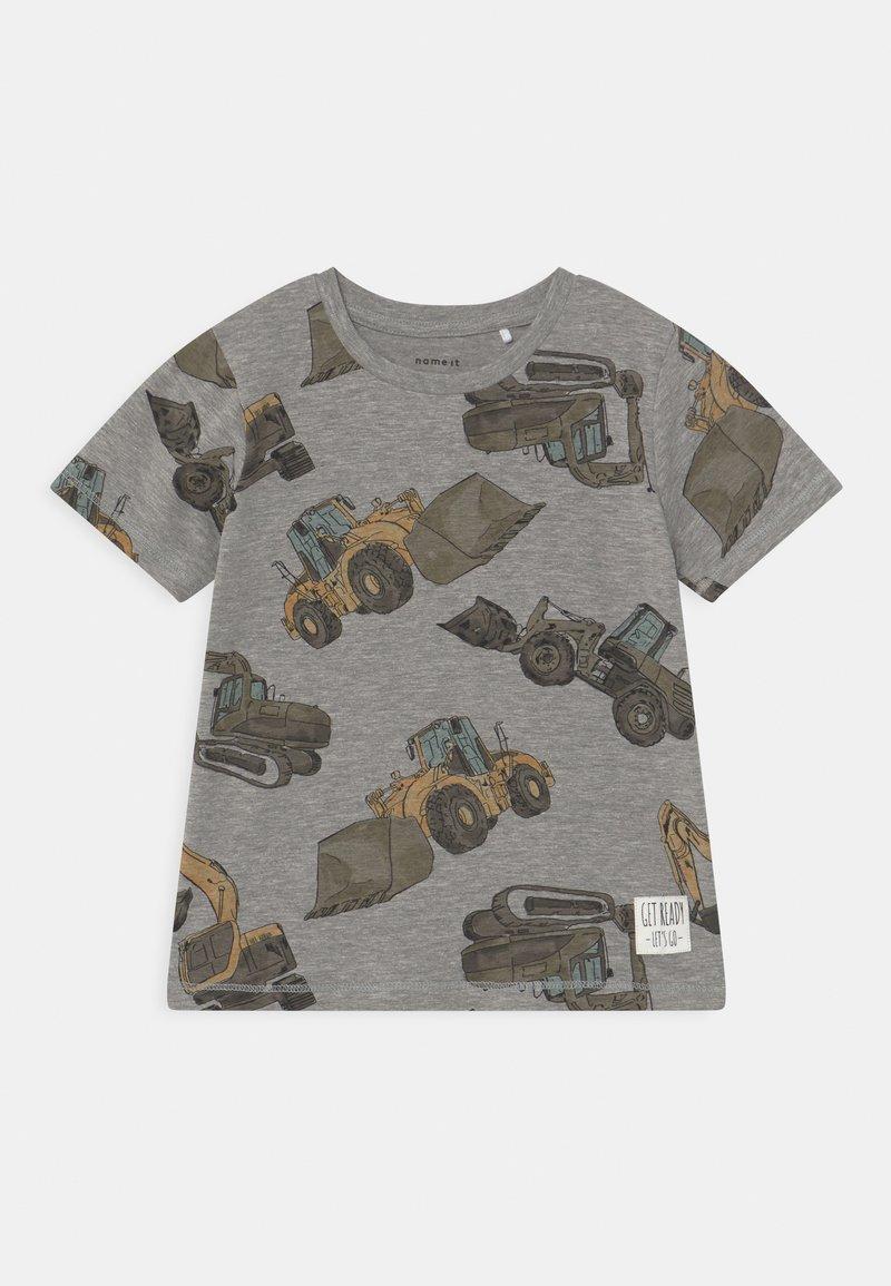 Name it - NMMDONNISO - Print T-shirt - grey melange