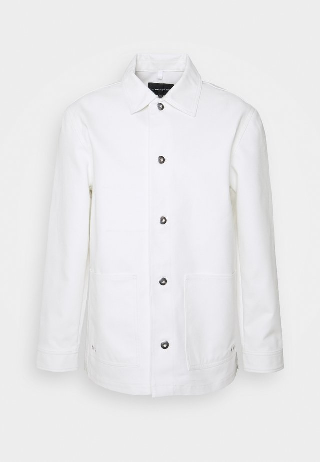 CHORE JACKET - Giacca leggera - blanc de blanc