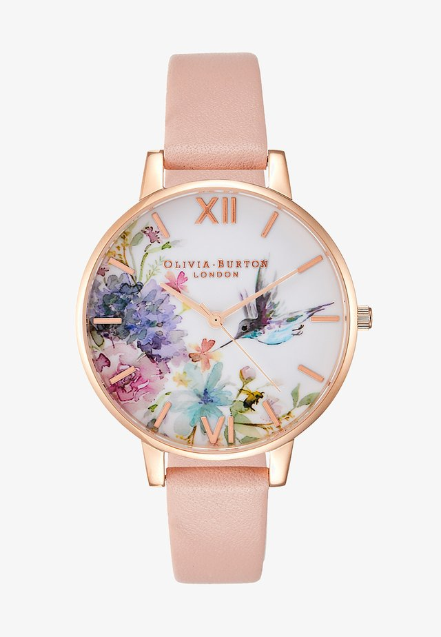 PAINTERLY PRINTS - Watch - dusty pink