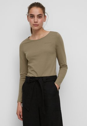 AUS ORGANIC-COTTON-SINGLE-JERSEY - Long sleeved top - nutshell brown