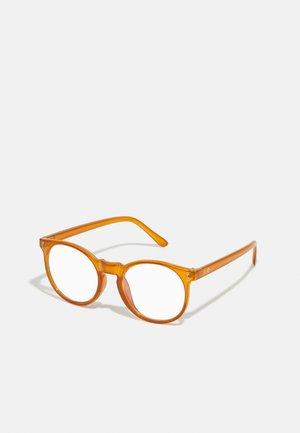 BYRON UNISEX - Blue light glasses - brown