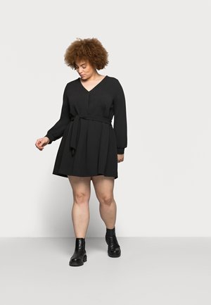VMCALI SHORT DRESS - Day dress - black
