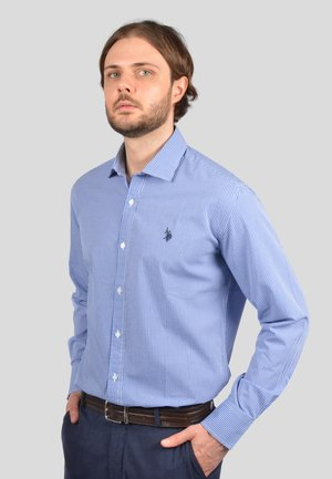 Camicia - white/navy/red