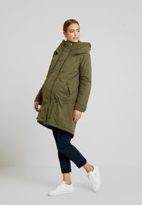 MAMALICIOUS - NEW TIKKA PADDED JACKET - Parka - olive night - 1