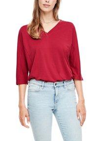s.Oliver - Long sleeved top - dark red - 4