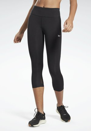LUX SPEEDWICK CAPRI 3/4 LEGGINGS - Leggings - black