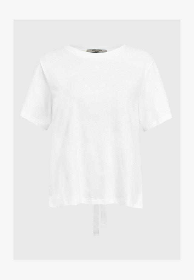 NIKI TEE - Bluzka - white