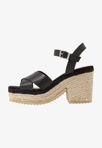 mtng - CAMBA - High heeled sandals - black - 1