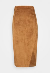 Abercrombie & Fitch - Pencil skirt - tan - 0