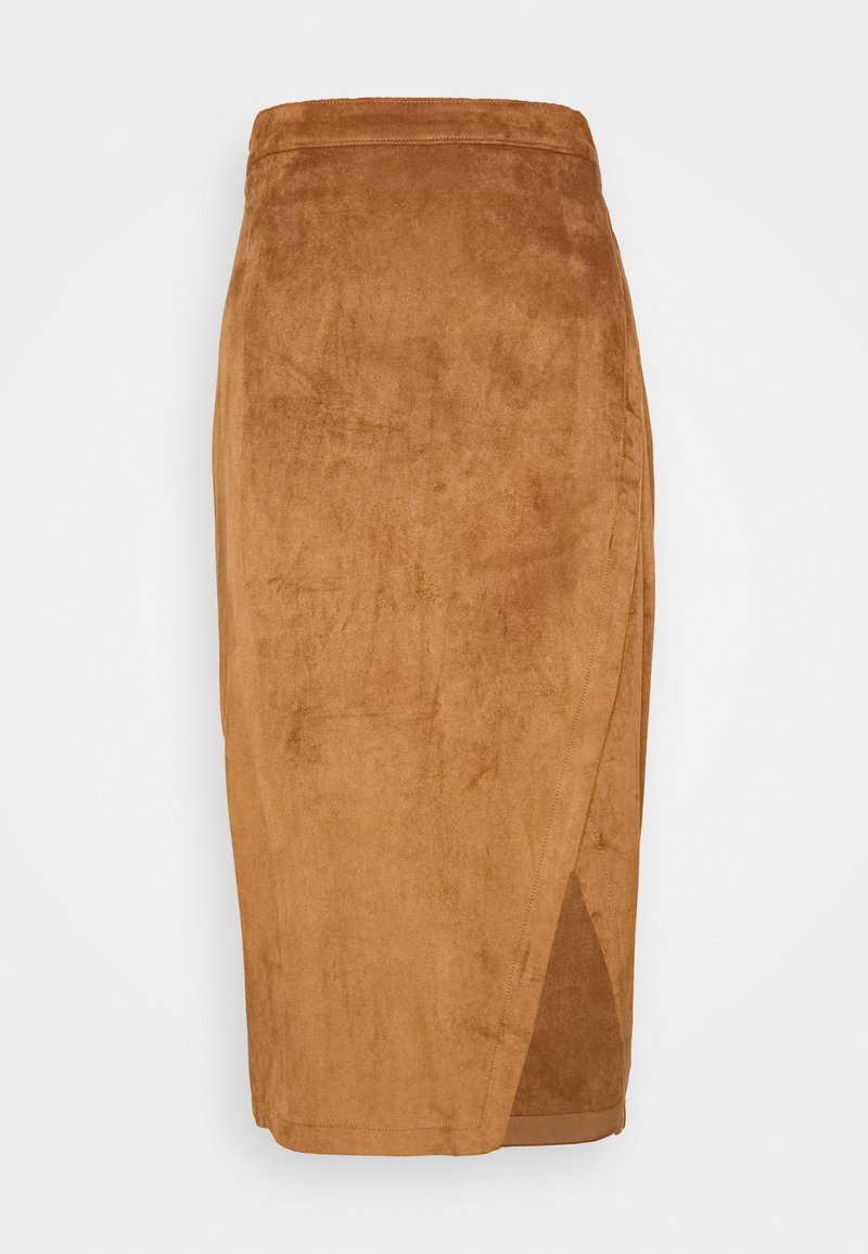Abercrombie & Fitch - Pencil skirt - tan