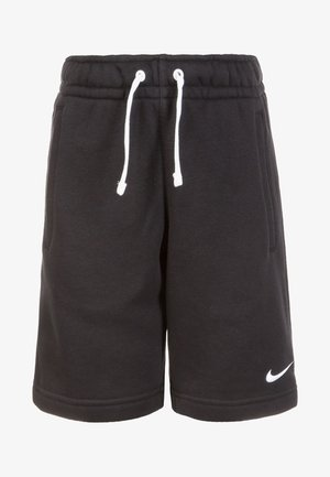 CLUB19 FLEECE TM - Pantalón corto de deporte - black/white