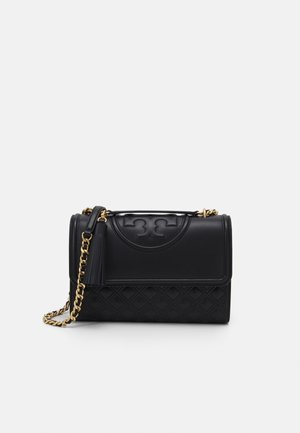 FLEMING CONVERTIBLE SHOULDER BAG - Taška s příčným popruhem - black