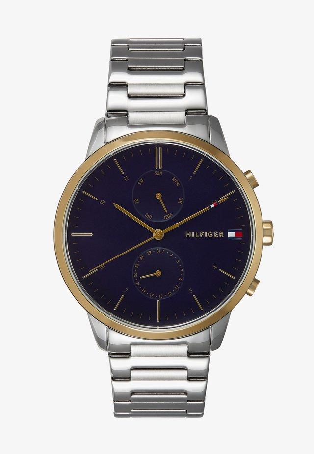 WATCH - Chronograaf - silver-coloured/blue