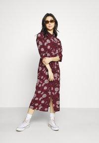 ONLY - ONLNOVA LUX  SHIRT DRESS - Skjortekjole - port royale - 1