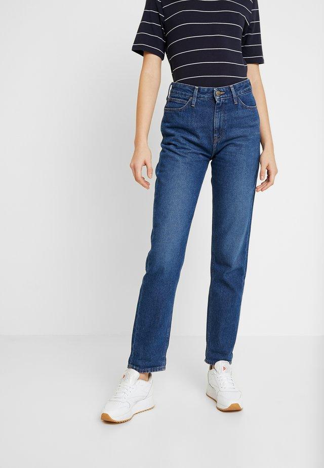 MOM  - Jeans a sigaretta - light-blue denim