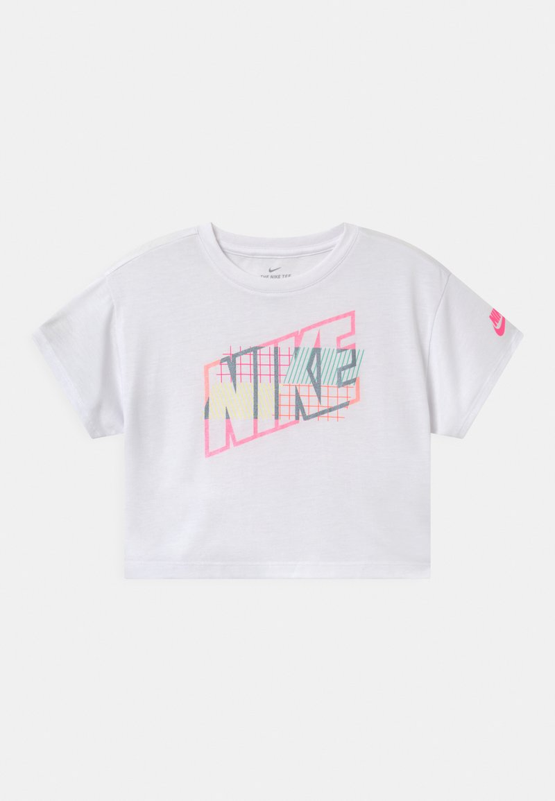 Nike Sportswear - SHORT SLEEVE DRAPEY GRAPHIC - Triko spotiskem - white