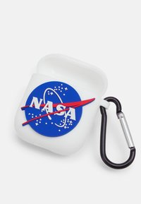 Urban Classics - NASA EARPHONE CASES UNISEX 2 PACK - Jiné doplňky - white/black - 2