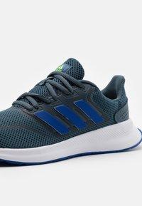 adidas Performance - RUNFALCON UNISEX - Neutral running shoes - legacy blue/team royal blue/signal green - 5