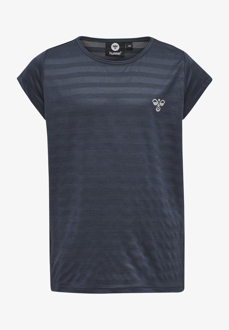 Hummel - T-shirt print - ombre blue
