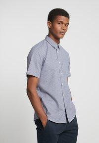 Esprit - Camisa - dark blue - 0
