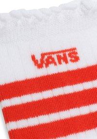 Vans - WM RUFFED UP SOCK (6.5-10, 1PK) - Socks - white - 1