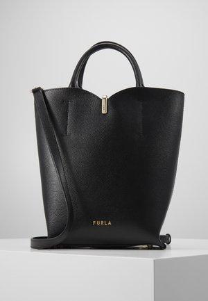 RIBBON BUCKET BAG - Handtasche - nero