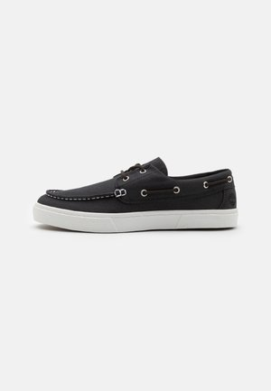 UNION WHARF 2.0 EK - Boat shoes - black