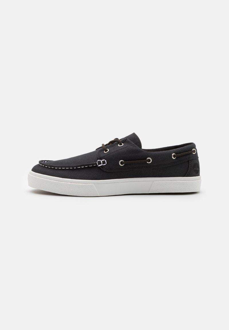 Timberland - UNION WHARF 2.0 EK - Boat shoes - black