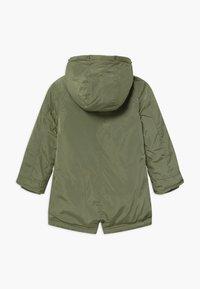 Lemon Beret - SMALL GIRLS - Winter coat - deep lichen green - 2